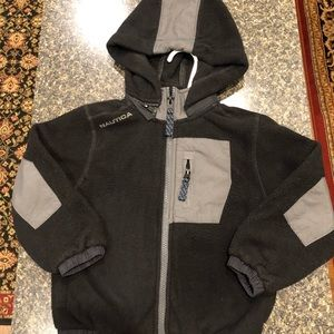 Little Boys Nautica Hooded Fleece Sz. 2/3